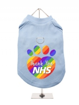''NHS: Thank You Paw'' Harness-Lined Dog T-Shirt